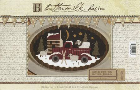 Buttermilk Basin Large Vintage Truck February BMB 1328