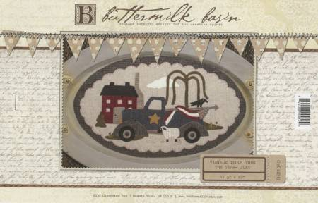 Buttermilk Basin Large Vintage Truck July BMB 1340