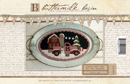 Buttermilk Basin Large Vintage Truck December BMB 1345