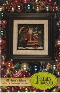 Santas Helpers Punch Needle Pattern