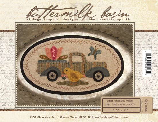 Buttermilk Basin Mini Vintage Truck April BMB 1349