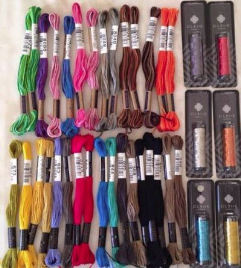 Cosmo Embroidery Floss (for Salem Quilt Guild Project)
